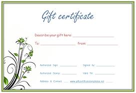 Free Printable Gift Certificates Template Make Printable Gift Certificates Download Them Or Print