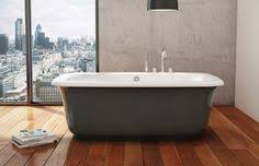 maax miles freestanding bathtub with thunder grey a