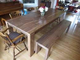 Dining Room Tables With A Bench Custom Decoration