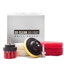 ultimate drill scrub kit clean 5x faster remove hard water stain soap s on grout corner tile fiberglass tub vinyl floor glass door bathroom