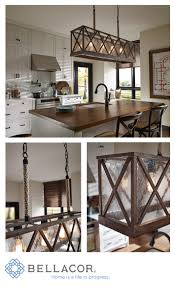 Oil Rubbed Bronze Kitchen Island Lighting Feiss Lumiere Dark Weathered Oak And Oil Rubbed Bronze Four Light