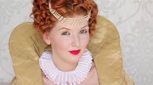 historically accurate queen elizabeth i makeup hair tutorial you