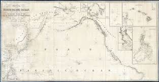 Nautical Charts Central America Chart Of The North Pacific Ocean Exhibiting The Eastern