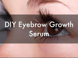 eyebrows diy eyebrow growth serum