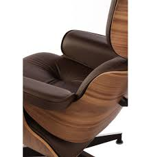 walnut with brown aniline leather plywood lounge chair and ottoman bedroominteresting eames office chair replicas style