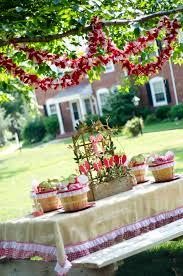 garden party ideas. Strawberry Garden Party Ideas