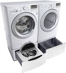 Frontload Washers Lg Wm3170cw 27 Inch 43 Cu Ft Front Load Washer With 7 Wash