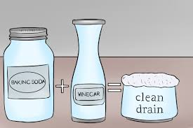 how to unclog a drain with baking soda
