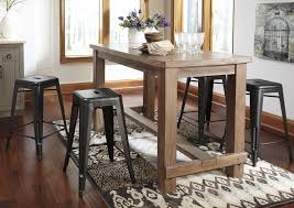 bar stools ashley furniture pinnadel rectangular counter height and table sets storage bar also wonderful
