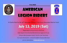 Norfolk Riders Plan Charity Ride In July To Benefit Ft Drum Vets
