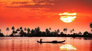 Kochi Kerala India Red Sky Sunset ...