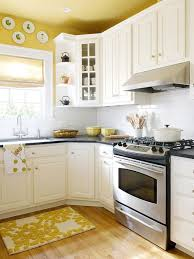 color schemes for kitchens with white cabinets. We Love This Pretty Yellow Kitchen! Bhg Kitchens Want To Cook In Color Schemes For With White Cabinets E