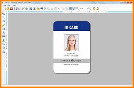 9 Id Card Format In Ms Word Edu Techation For Employee Card