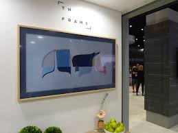 samsung tv the frame. the notion of using flat-panel tvs to display art isn\u0027t new, but samsung finally took time think concept through and do it right. tv frame