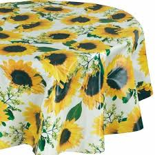 round outdoor tablecloth