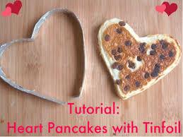 <b>Valentine</b> Heart Pancakes - Using DIY Tinfoil <b>Shapes</b> (A Tutorial ...