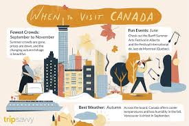 the best time to visit canada