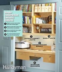 turn closet into office. Unique Closet How To Turn A Closet Into An Office Family Handyman Inside G