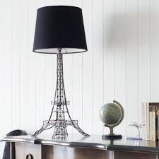 eiffel tower lamp with black shade view all bedroom bedroom