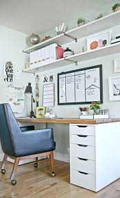 home office wall shelving. Charming Style At Home With Heather Freeman Office Space Wall Shelving Units Image On S