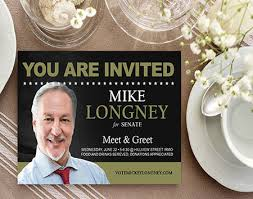 Political Fundraising Invitations Political Invitations Fast Print Turnaround Printplace