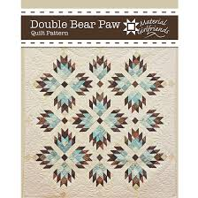 Bear Paw Quilt Pattern Simple Double Bear Paw