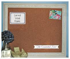 office cork boards. Home Office Bulletin Board Ideas Decor Tips Wonderful Cork Boards With Frame Design E