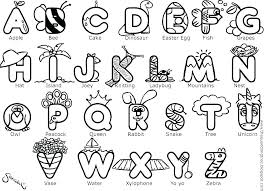 Alphabet Coloring Pages To Print Free Printable Alphabet Colouring