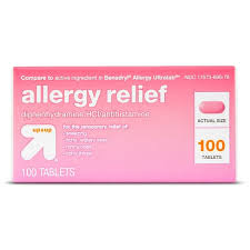 Diphenhydramine HCI Allergy Relief Tablets - (Compare to Benadryl ...