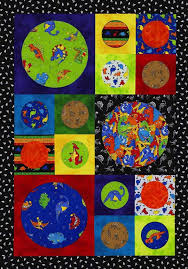 195 best KIDS QUILTS images on Pinterest | Baby quilts, Appliques ... & In just a day you can stitch up this whimsical quilt for a budding  paleontologist. Adamdwight.com