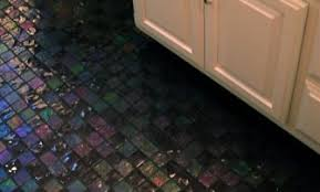 bathroom glass floor tiles. Lightstreams Glass Bathroom Floor Tile Dark Silver Grey Black Design Tiles