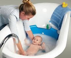 Resultado de imagen para baño para bebé