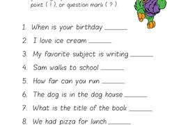 Punctuation Education Com