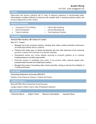 Merchandiser Resume Sample Assistant Merchandiser CV CTgoodjobs powered by Career Times 2