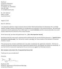 Cover Letter Paper Submission Elsevier Journal Cover Letter Elsevier
