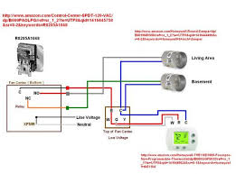 wire thermostat to control zone damper? doityourself com Honeywell Zone Control Wiring Diagram name fancenter w dampers jpg views 5961 size 33 0 kb Honeywell V8043E Wiring
