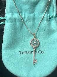 tiffany co 18k white gold diamond