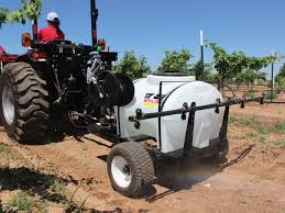 the lgs 50 vineyard sprayer can control cover crop in your vineyard