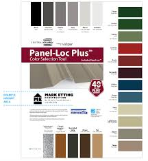 Central States Metal Color Chart Rushings Metal Buildings Contractors Brookhaven Ms