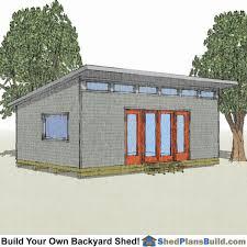 16x24 gambrel shed plans