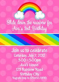5 brave rainbow birthday party invitations printable jeunemoule com 5 brave rainbow birthday party invitations printable