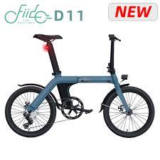 [Free Lock] 20 Inch Tire <b>FIIDO D11 Folding Electric</b> Moped Bike ...