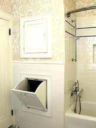 bathroom laundry basket bathroom hamper vanity with laundry basket hampers storage cabinets built in bathroom hamper
