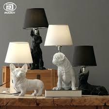 table lights for bedroom loft vintage resin pet dog table lights retro dog art lamp bedroom table lights