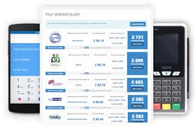 Credit Card Processing Comparison Chart Uks Number 1 Card Payment Comparison Site