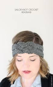 Crochet Headband Pattern Cool Crochet Headband Pattern With Sailor Knot Detail