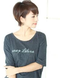 吉瀬美智子さん風ショート Nb 068 ヘアカタログ髪型ヘアスタイル