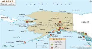 Resurrection Bay Chart List Of Museums In Alaska Alaska Museum Map