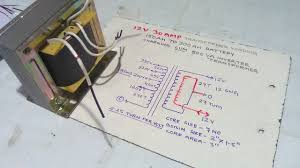 how to make 12 volt 30 amp battery charger transformer winding easy Battery Charger Schematic Diagram how to make 12 volt 30 amp battery charger transformer winding easy at home yt 48