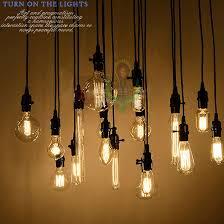 edison bulb pendant lighting. Wholesale 18set Edison Antique Bulb Pendant Lamps Diy Nostalgic Vintage Style Lights High Quality Long Life Freeshipping-in From Lighting H